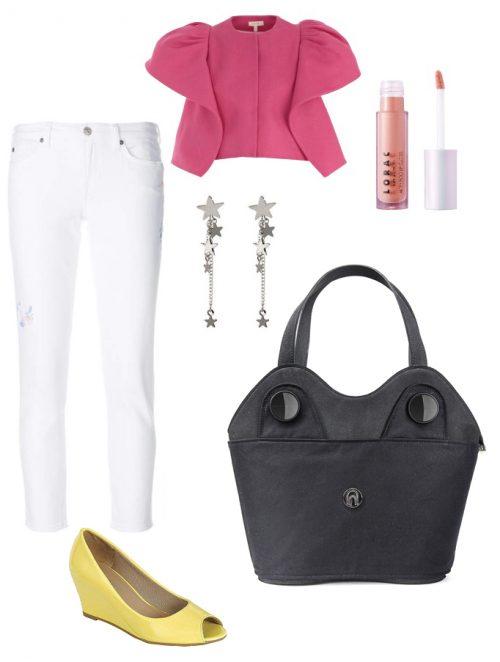 Come indossare pantaloni bianchi outfit ufficio